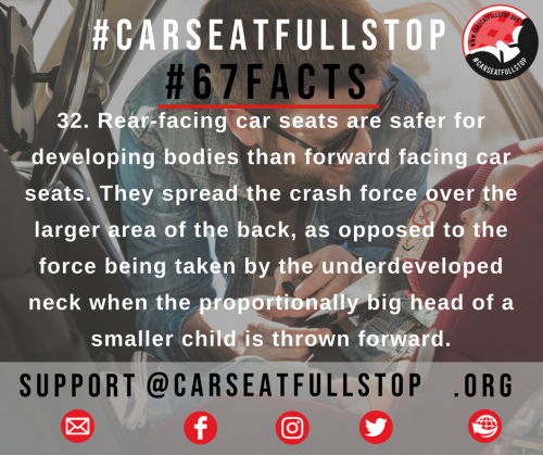 32 #67Facts rear facing crash dynamics