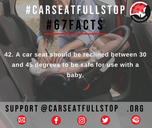 42 #67Facts car seat angle