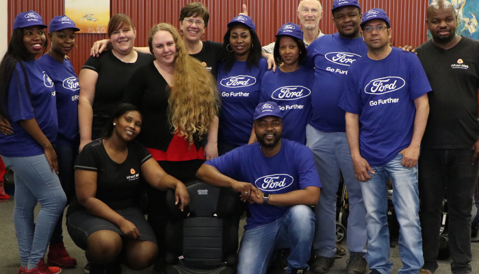 Ford Global Caring group shot