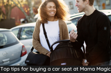Buying a car seat at mama magic(1)