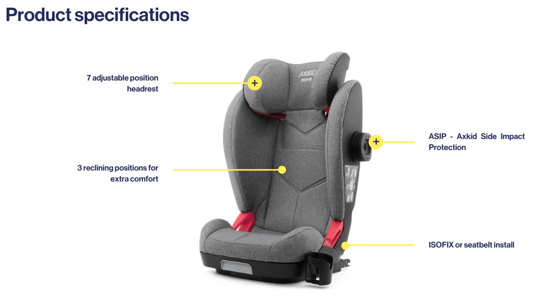 Axkid booster seat - Bigkid